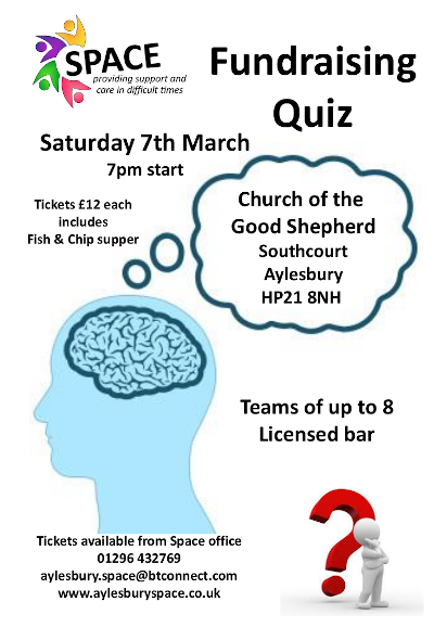 Space Aylesbury quiz 2020