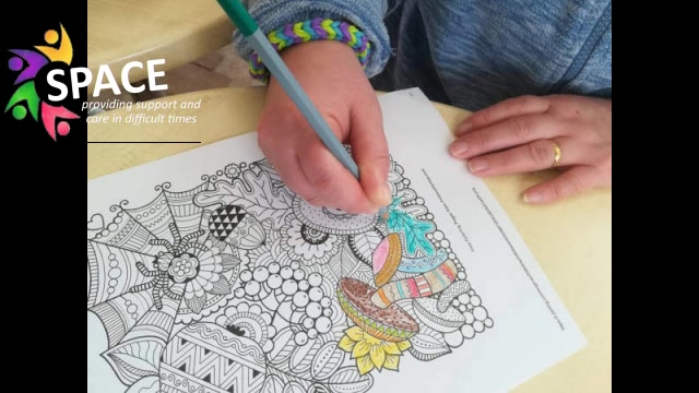 Mindfulness Colouring With Space